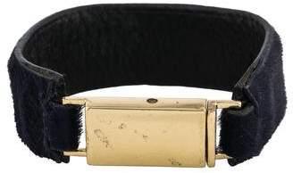 Isabel Marant Ponyhair Wrap Bracelet
