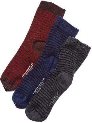 Richer poorer Set Of 3 Wool-Blend Crew Sock
