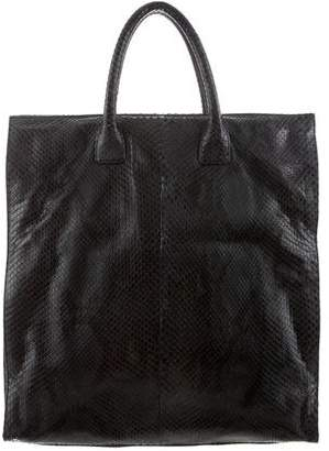 Hayward Snakeskin Shopper Tote