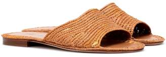 Carrie Forbes Raffia sandals