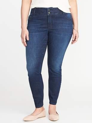 Old Navy Secret-Slim Pockets Plus-Size Built-In Sculpt Rockstar Jeans