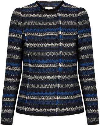 REBECCA TAYLOR Variegated tweed jacket $450 thestylecure.com