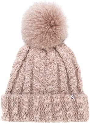 CA4LA knitted pattern hat