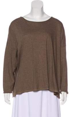 eskandar Long Sleeve Knit Top