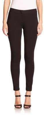 Armani Collezioni Double-Faced Jersey Leggings