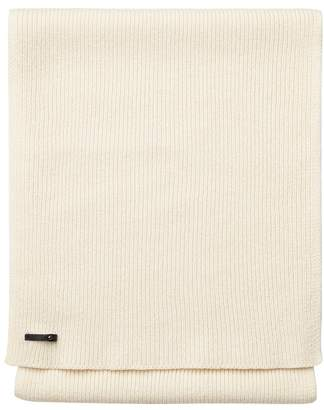 Cuyana Wool Cashmere Ribbed Scarf
