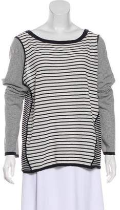 Tory Burch Striped Knit Top