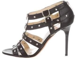 Jimmy Choo Studded Multistrap Sandals