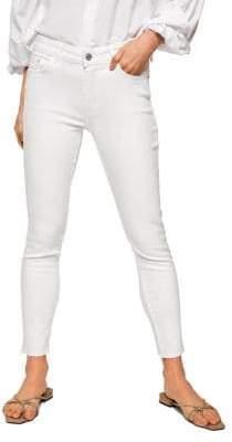 MANGO Isa Cropped Jeans