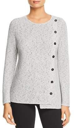Nic+Zoe Shape Up Button Sweater