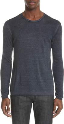 John Varvatos Collection Silk & Cashmere Sweater
