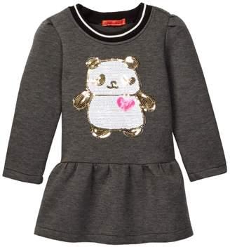 Funkyberry Sequin Panda Tunic (Toddler & Little Girls)