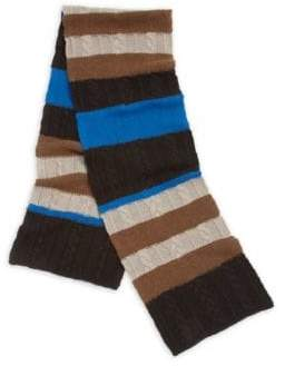 Blend of America Striped Wool Scarf