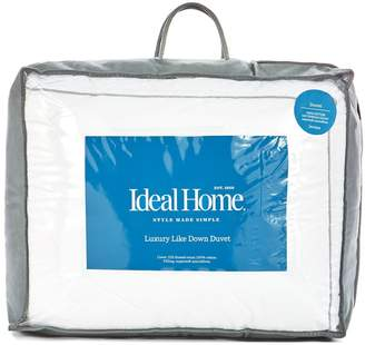 Ideal Home Luxury Like Down Cotton Cover Duvet 7.5 Tog Db
