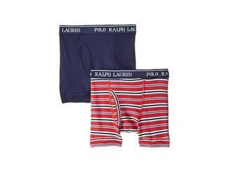 Polo Ralph Lauren 2-Pack Boxer Briefs (Little Kids/Big Kids)