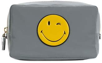 Anya Hindmarch Smiley make-up bag