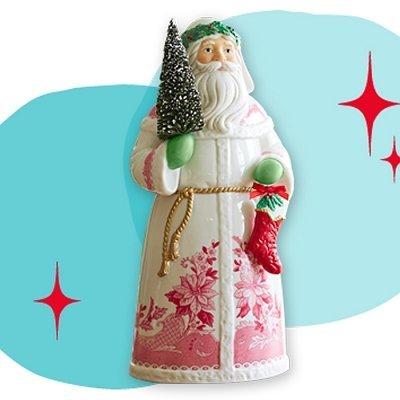 Hallmark Santas From Around the World England Tabletop