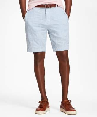 Brooks Brothers Patchwork Seersucker Bermuda Shorts