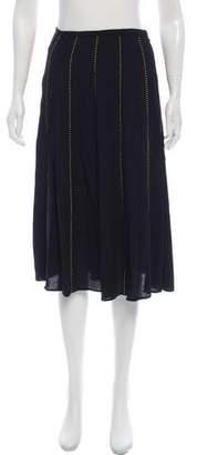 MICHAEL Michael Kors Embellished Knee-Length Skirt