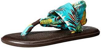 Sanuk Women's Yoga Sling 2 Prints Hawaii Flip-Flop