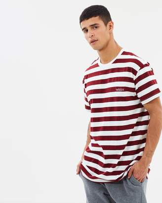 Cabin Stripe Custom Fit Tee
