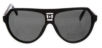 DSQUARED2 Matte Oversize Sunglasses
