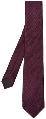 HUGO BOSS diagonal woven tie