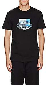 """Blood Brother MEN'S """"PICTURE THIS"""" COTTON T-SHIRT-BLACK SIZE M"""