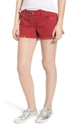 DL1961 Renee Cutoff Denim Shorts (Cherry Bomb)