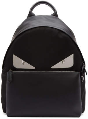 Fendi Black 'Bag Bugs' Backpack