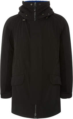 Yves Salomon Paris Fur-Lined Wool Gabardine Parka