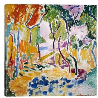 iCanvas Landscape Near Collioure - Henri Matisse Giclee Print Canvas Art