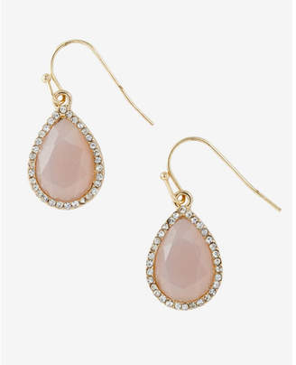 Express Teardrop And Rhinestone Earring $16.90 thestylecure.com