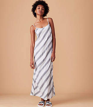 Lou & Grey Striped Cami Maxi Dress