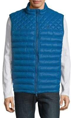 Strellson Quilted Zip-Front Vest