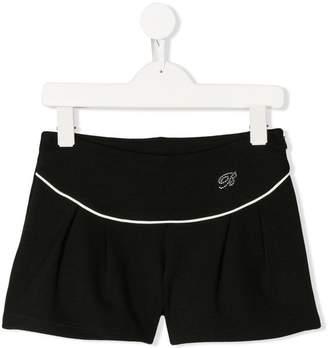 Miss Blumarine pleated shorts
