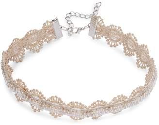 Noir Women's Beaded Choker Necklace