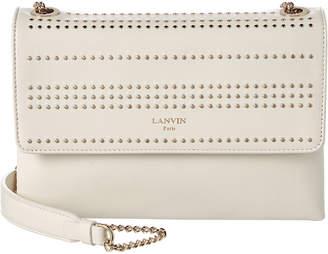 Lanvin Mini Sugar Studded Leather Shoulder Bag