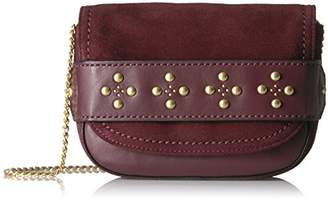 Vera Bradley Carson Mini Saddle Bag Grain Leather