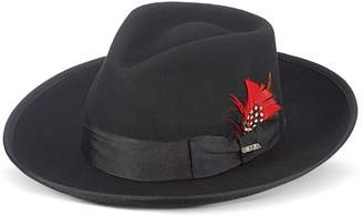 Scala Men's Wool Felt Fedora