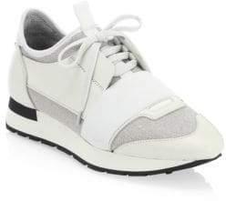 Balenciaga Race Low-Top Chunky Sneakers