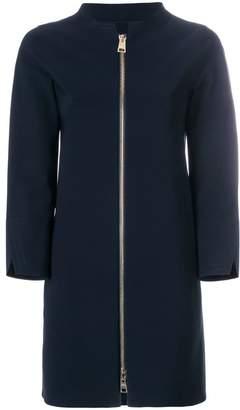 Herno collarless coat