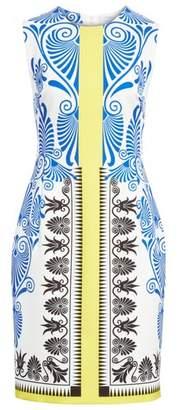 Versace Eros Stretch Cady Sheath Dress