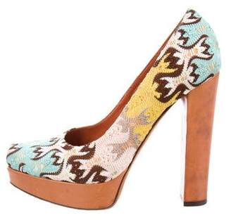 42d9331809bf Pre-Owned at TheRealReal · Missoni Patterned Platform Pumps