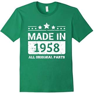 Made In 1958 All Original Parts Birthday T-Shirt
