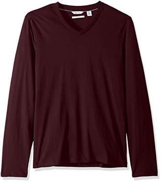 Calvin Klein Men's Long Sleeve V-Neck T-Shirt