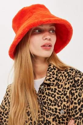 Topshop Faux Fur Bucket Hat
