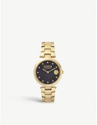 Versus Buffle Bay gold-plated stainless steel watch