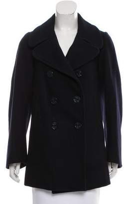 Marc Jacobs Notch-Lapel Wool Coat