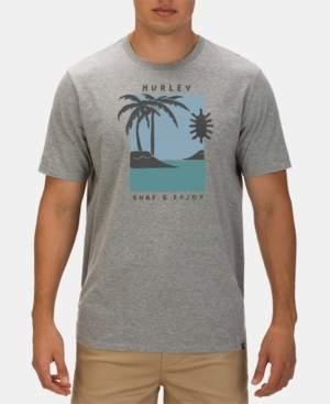 Hurley Men's Premium Good Times Logo Graphic T-Shirt